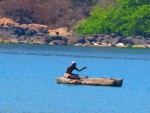 Local fisherman on Lake Malawi