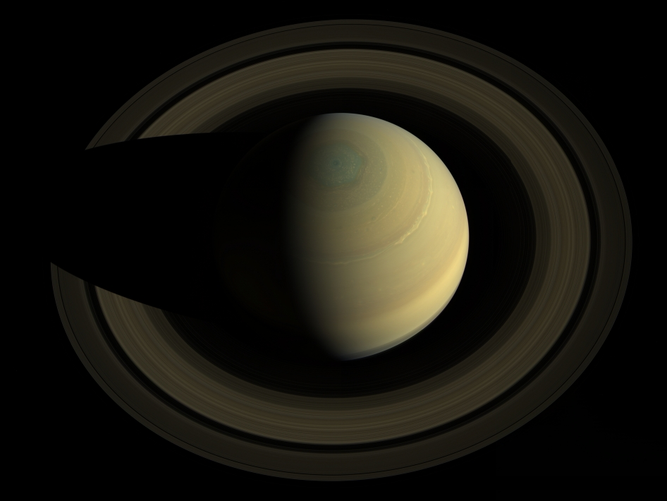 Hyper-realistic new image of Saturn taken by NASA's Cassini spacecraft