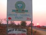 Entrance to Liwonde National Park