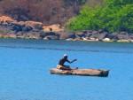 Local fisherman on Lake Malawi